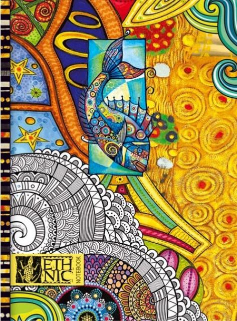 =Блокнот Мікро ембоссінг, формат А5, 80 аркушів, дизайн - 17116,17117,17118,17217
